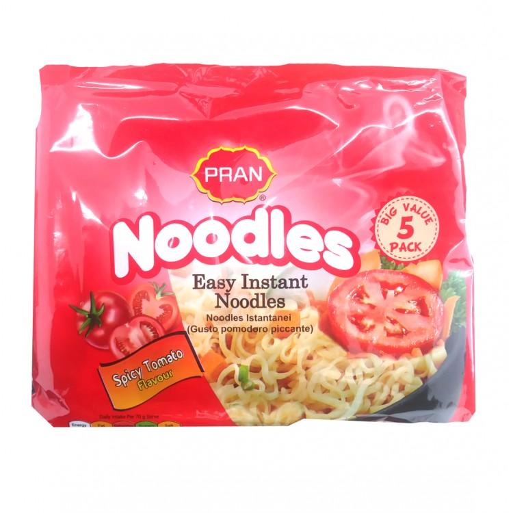 Pran Easy Instant Noodles Spicy Tomato Flavour 5pk