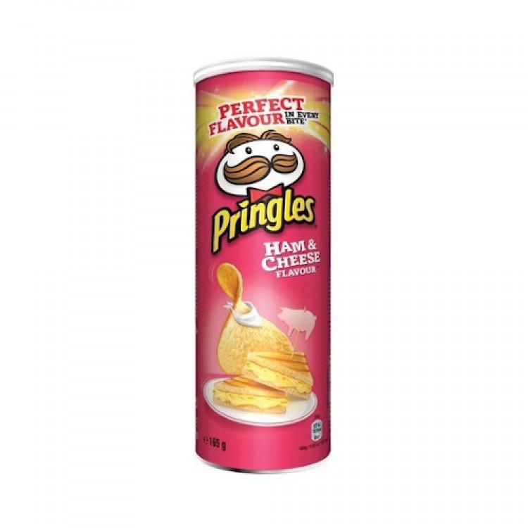 Pringles Ham & Cheese Flavour 165g