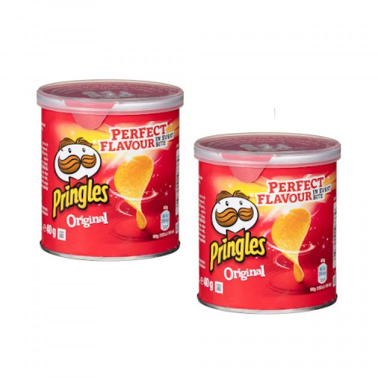 Pringles Original 40g - 2 For £1