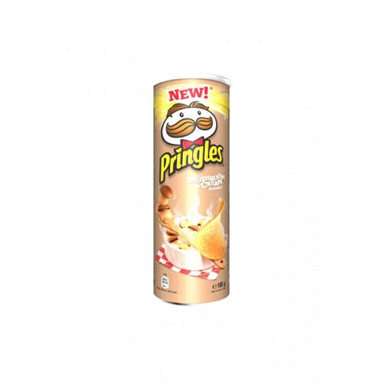 Pringles Mushroom & Cream Flavour 165g