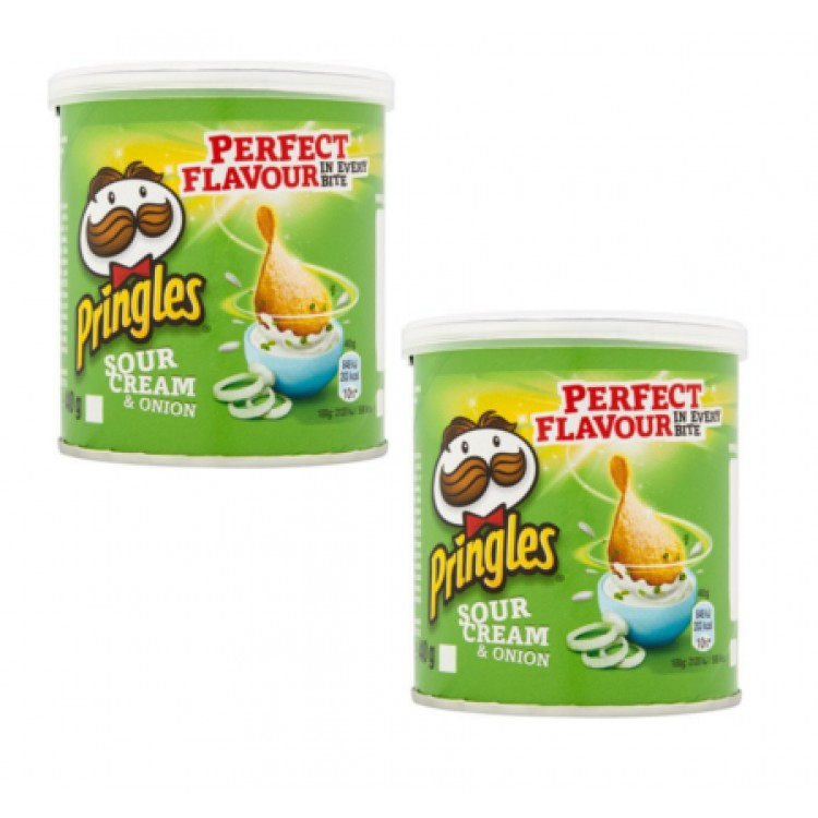 Pringles Sour Cream 40g 2 for £1