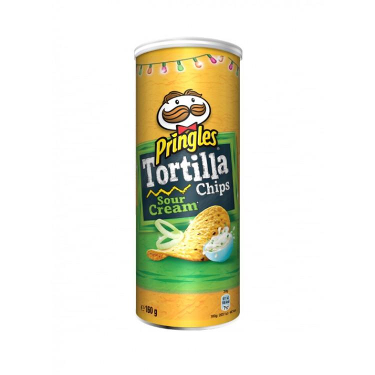 Pringles Tortilla Sour Cream 160g