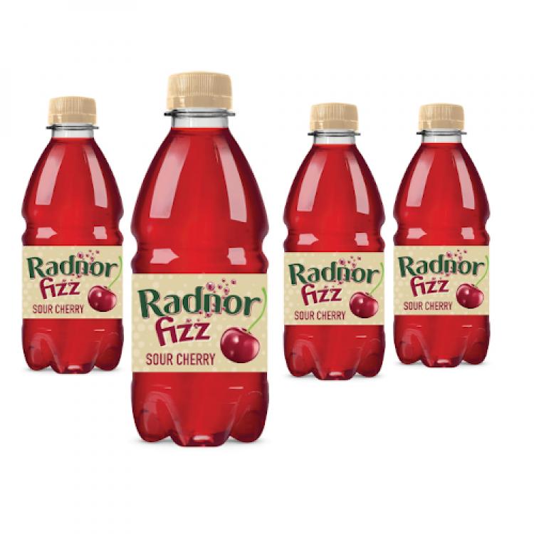 Radnor Fizz Sour Cherry Bottled Drink 330ml - 4 For £1