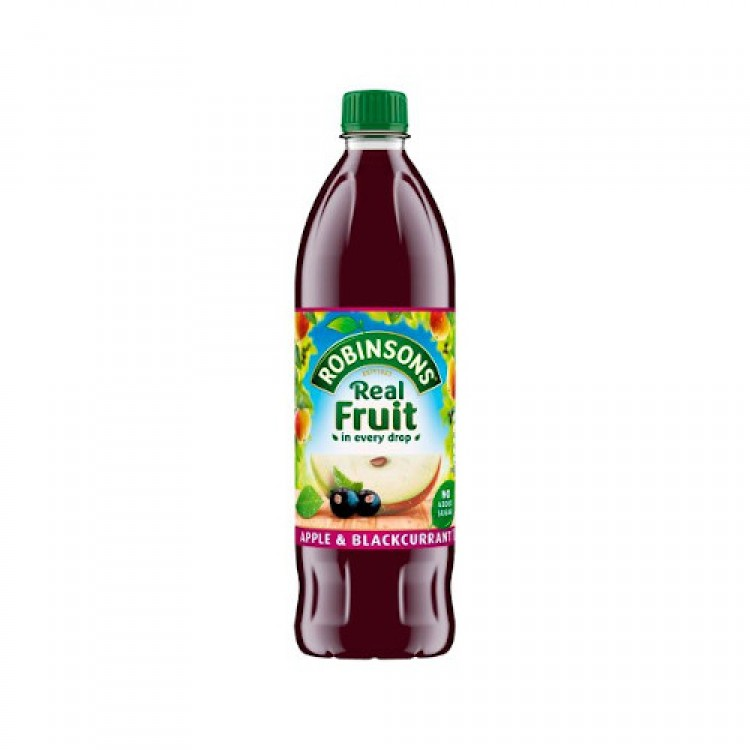 Robinsons Real Fruit Apple & Blackcurrant Cordial 1L