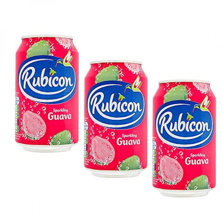 Rubicon Sparkling Guava 330ml - 3 For £1