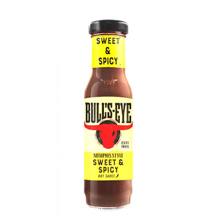 Bulls Eye Memphis Style Sweet & Spicy Hot Sauce 275g