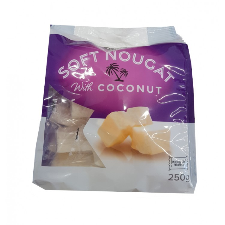 Coconut Nougat 250g Bag
