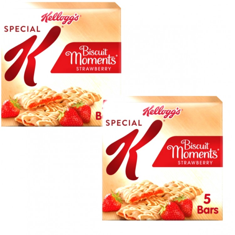 Special K Strawberry Biscuit Moments 125g - 2 For £1