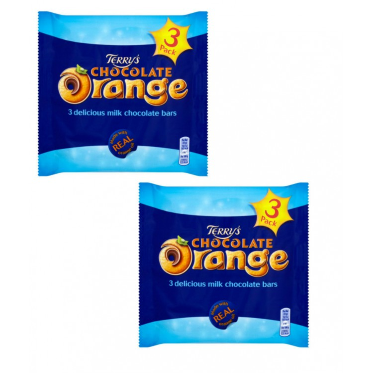 Terrys Chocolate Orange (3pack) 3x35g 2 For £1