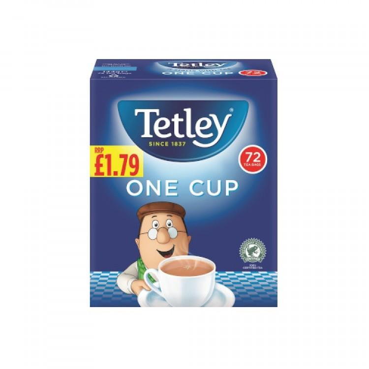 Tetley Original One Cup 72's Tea Bags