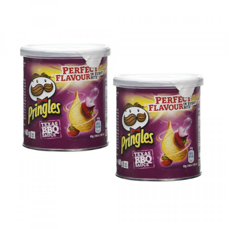 Pringles Texas BBQ Sauce 40g - 2 For £1