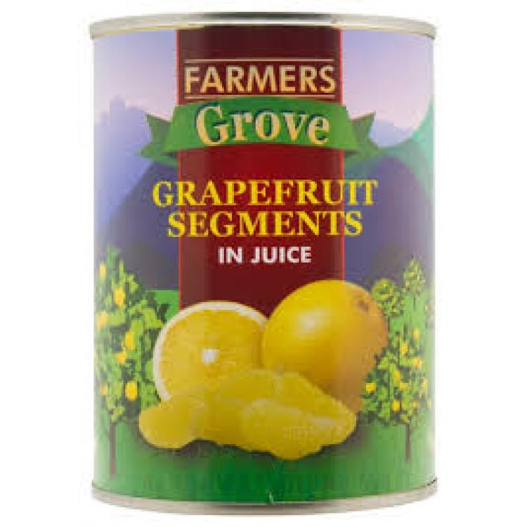 Farmers Grove Grapefruit Segments in Juice 540g