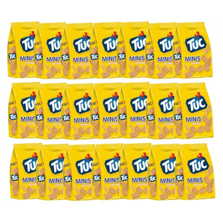 Jacobs Tuc Mini Original Crackers 100g - CASE PRICE x 21