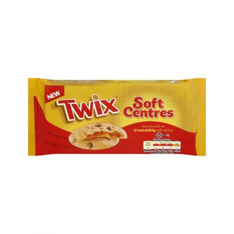 Twix Soft Centres Cookies 144g