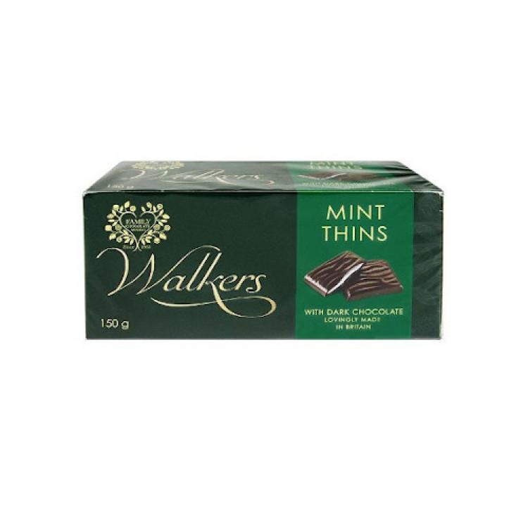 Walkers Mint Thins Dark Chocolate 135g