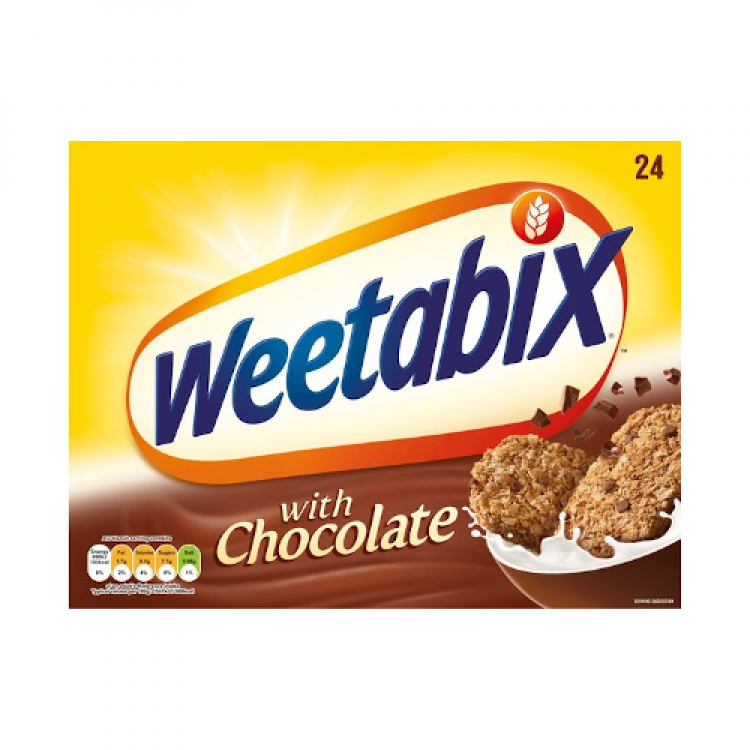 Weetabix with Chocolate Cereal 24 Biscuit 500g