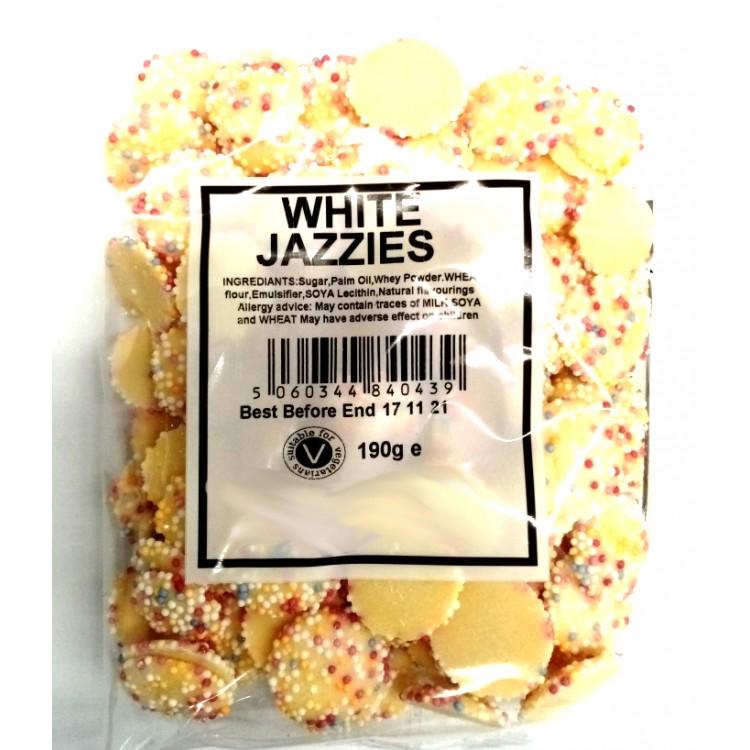 White Jazzles Chocolates 190g