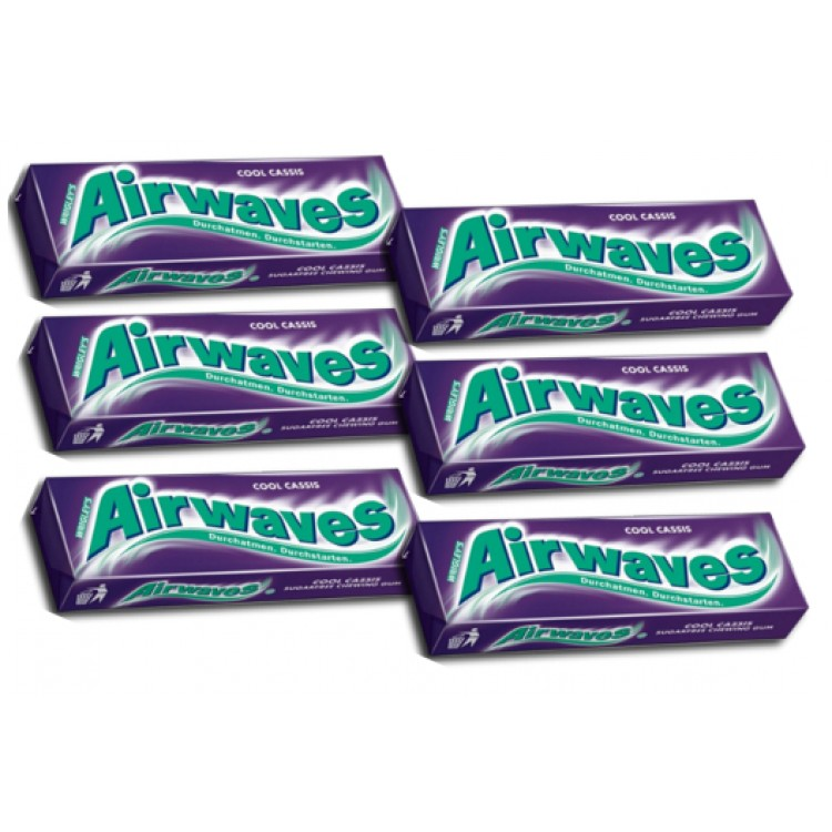 Airwaves Cool Classic 45g (3pack) - 2 For £1