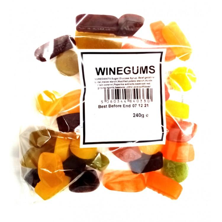 Wine Gums 240g (Share Bag)