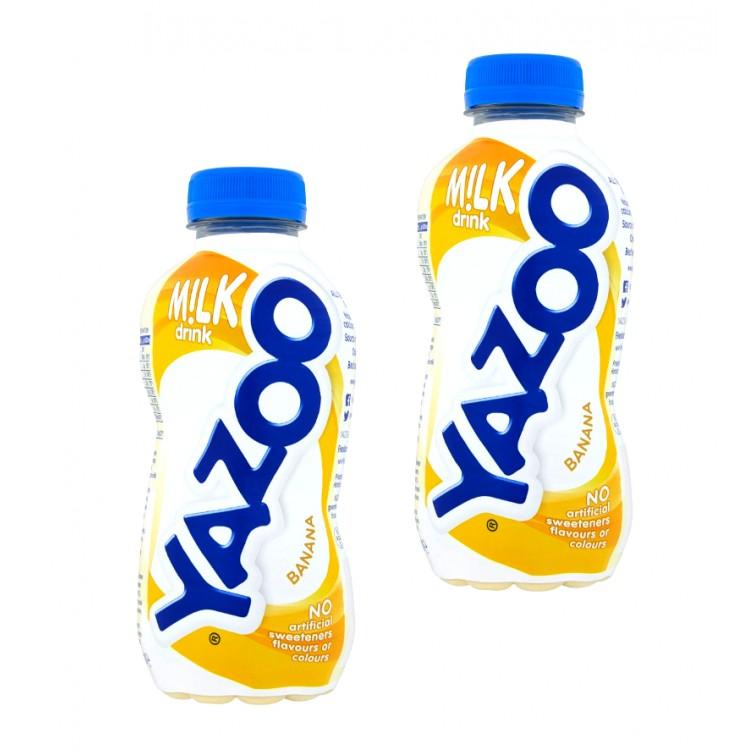 Yazoo Banana Milk Drink 300ml - 2 For £1