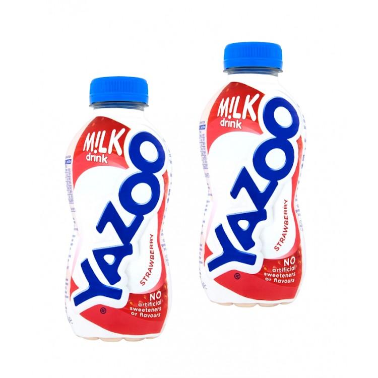 Yazoo Strawberry Milk Drink 300ml - 2 For £1