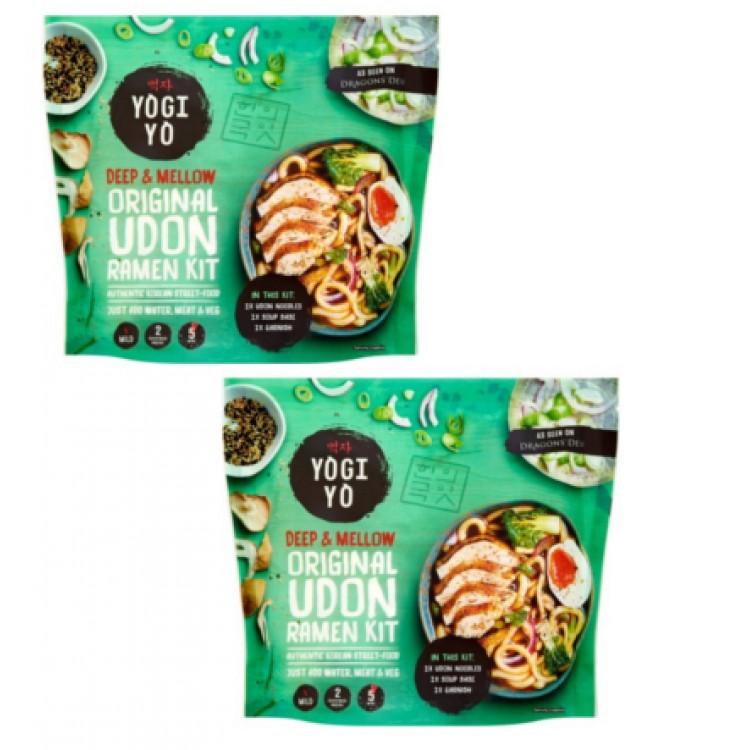 Yogi Yo Udon Ramen Noodle Meal Kit 480g 2 For £1.50