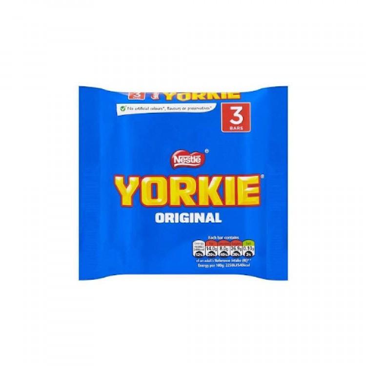 Nestle Yorkie Original 3pk 138g